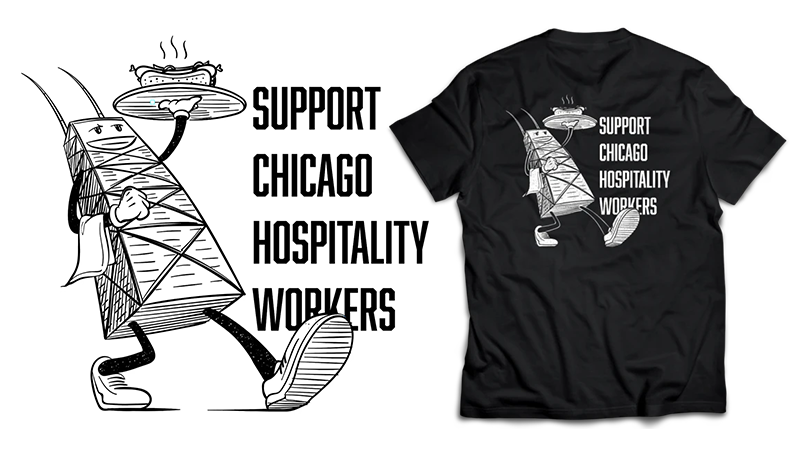 Chicago Hospitality United Merch